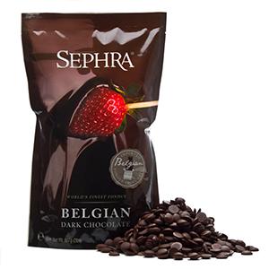 Sephra dark Callebaut fonteinchocolade
